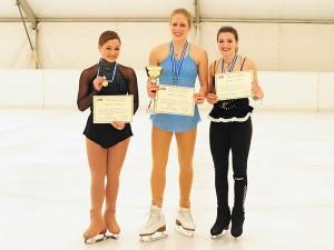 Isabella Schuster-Velissariou - Champion 2012, Georgia Glastris 2nd, and Demetra Korri 3rd